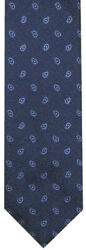 New Brioni Navy W Light Blue And White Paisley 100 Silk Neck Tie