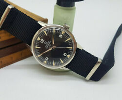 Used 1964 Omega Seamaster 30 Cal286 Black Dial Manual Wind Movement Manand039s Watch