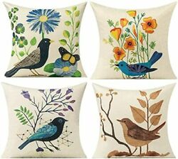 Outdoor Throw Pillow Cover Patio Furniture Spring Vintage Decorative Cushion