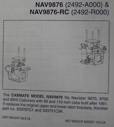 International Cabover 9670 9700 9800 Cab Air Ride Kit Fitting Most Coe Nav9876