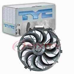 Tyc Ac Condenser Fan Assembly For 1988-1994 Bmw 750il Heating Air Mp