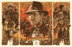 250558 Hot Indiana Jones And The Last Crusade Classic Movie Print Poster Wall Ca