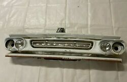 1960 1961 Chevy Apache Truck Grill Front Grille Surround Insert Emblem Panel