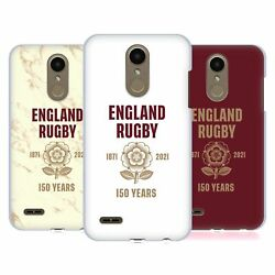 Official England Rugby Union 150th Anniversary Hard Back Case For Lg Phones 1