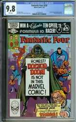 Fantastic Four 238 Cgc 9.8 White Pages // John Byrne Cover Art 1982