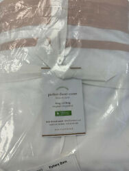 Pottery Barn Parker Organic Percale Duvet Cover Full/queensoft Rose