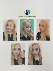 Loona Official Premier Greeting Meet And Up Gowon Photocard Set