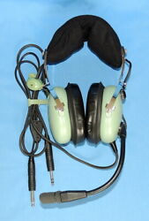 New David Clark H10-13.4 General Aviation Headset For Pilots-w/microphones