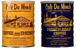 Cafe Du Monde Coffee and Chickory and French Roast Bundle. New Orleans Coffee 15