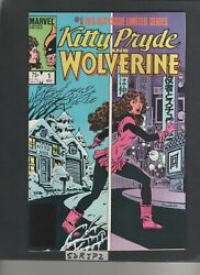 Kitty Pryde And Wolverine 1 Nm Unread Key 1st Ogun Falcon And Winter Soldier 1984