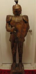 Vintage Midevel Knight Life Size Collectable