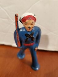 Vintage Barclay Lead Metal Toy Navy Sailor Soldier Figure W/ Rifle