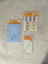 Hobonichi Index Stickers Dear Doctors And Page Keeper $20.00