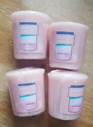SPRING SALE YANKEE CANDLE SET OF 4 VOTIVE CANDLES: PINK SANDS last one