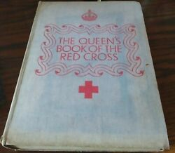 The Queenand039s Book Of The Red Cross - 1939 Book In Good Condition. Rare Hardback