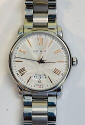 Beautiful Stainless Steel 42mm 4810 Menand039s Watch / With Bracelet Mint