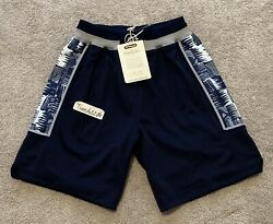 New Mitchell And Ness Georgetown Hoyas 1995-96 Authentic Shorts Iverson Small 36
