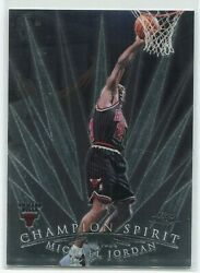 1998 99 Topps Chrome Michael Jordan Champion Spirit #CS1 Chicago Bulls $39.99
