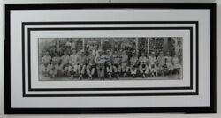 Mickey Mantle Signed16 Year Old Panoramic Jr. 1948 Team Photo Framed Jsa 152127