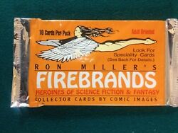 Ron Millers Firebrands Adult Oriented Trading Art Cards 3 Packs Of 10 Cards Each