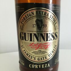 Guinness Beer Bottle - Foreign Extra Stout Dominican Republic 1990s Rare