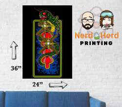 Centipede Arcade Side Art Wall Poster Multiple Sizes 11x17-24x36