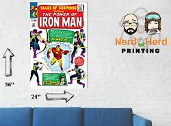 Tales Of Suspense 57 Iron Man Wall Poster Multiple Sizes 11x17-24x36