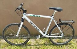 Cannondale Aluminum Alloy Mountain Bicycle With Shimano Gears