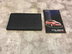2010 Dodge Caliber Owners Manual With Case Oem Free Shipping