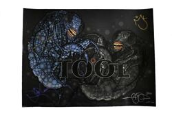 Tool Grand Prairie Dfw Verizon Theater Autographed Signed Poster Authentic