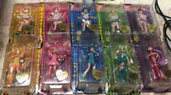 Tokyo Mew Mew Anime Egant Collection Doll Figure Lot Of 10 Japan