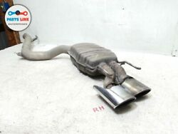 08-10 Mercedes Cl63 Amg 6.3l Cl W216 Rear Right Muffler Baffle Exhaust Tips Pipe