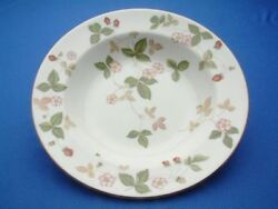 Wild Strawberry Fine China By Wedgewood Individual Soup Plate 8
