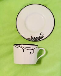 Mikasa Cocoa Blossom Cup And Saucer New