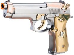 We-tech M92f Calico Jack Full Metal Gas Blowback Airsoft Pistol