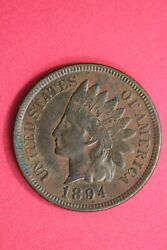 1894 Indian Head Cent Penny Exact Coin Shown Flat Rate Shipping Oce 43