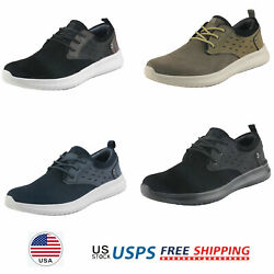 Mens Fashion Sneakers Suede Classsic Walking Shoes Lace up Casual Shoes $15.00