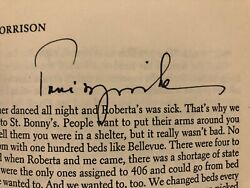 Toni Morrison - A Signed Copy Of Confirmation With Her Short Story Recitatif