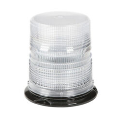 Grote 9685676 Led Beacon W/ S-link Synchronization Permanent Mount Class I White