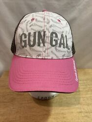 Smith And Wesson Pink And Gray Gun Gal Hat Snapback Mesh