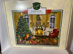 Byers Choice Wooden Boxes Fireside Christmas Advent Calendarnew In Box