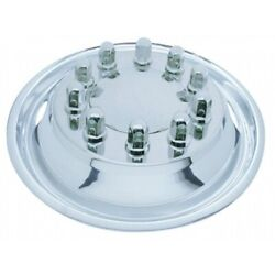 22 1/2 O.d. Stainless Front Simulator Set - 2 Vent Hole, Hub Piloted 20315