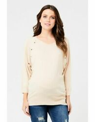 Ripe Maternity And Nursing Top Sweater Small 6 - Fast Free Ship Us Seller Nwt