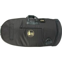 Gard Mid Suspension Large 20quot; Bell Tuba Gig Bag 64 MSK Black Synth w Leather Trm $309.99