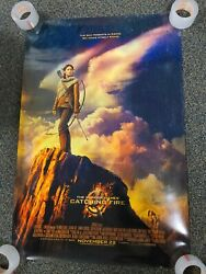 The Hunger Games Catching Fire Poster 40x27 Katniss Original Movie Displayed