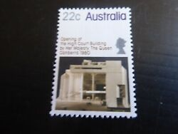 Australia 1980 Sg 747 Opening Of High Court Building Mnh