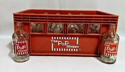 The Pop Shoppe Soda Glass Bottles 24 Count With Crate Texas New York Washington