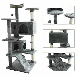 53 Cat Tree Tower Activity Center Large Playing House Furniture Condo For Rest