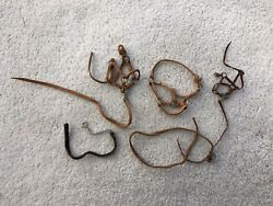 Lot 3 Vintage Breyer Horse Traditional Classic Accessories Leather Halters Leads