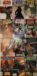 Star Wars Key Comics Lot Of 12 Dark Horse Lots Of 1st Appearances